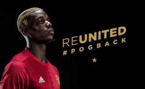 "Fans MU: ""Welcome Back Pogba"""