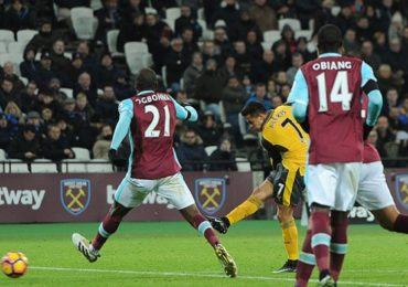 Prediksi Skor Arsenal vs West Ham United Premier League 6 April 2017