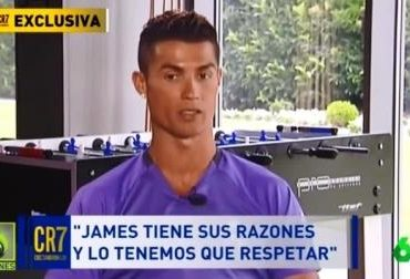 Cristiano Ronaldo Ingin James Tinggal