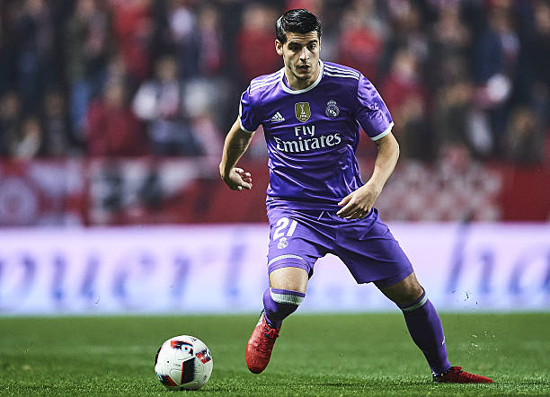 alvaro morata - real madrid