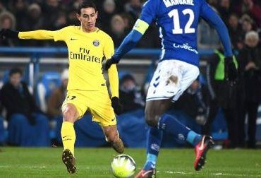 Angel Di Maria, Strasbourg, Paris Saint Germain,