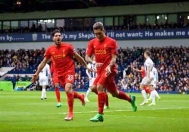 Data dan Fakta Menarik Liverpool vs West Bromwich Albion