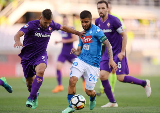 Pertandingan Fiorentina vs Napoli 29 April 2018 skor 3-0