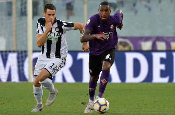 Pertandingan Fiorentina vs Udinese september 2018 skor 1-0