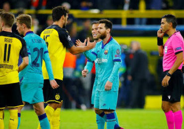 Barcelona vs Borussia Dortmund 28 November 2019