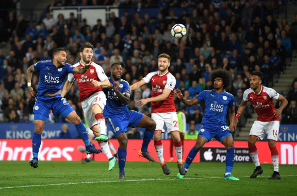 Leicester City vs Arsenal 10 November 2019