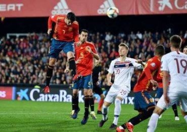 Spanyol vs Malta 16 November 2019