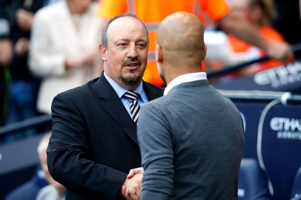 Rafa Benitez, pelatih Newcastle United