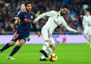 Valencia vs Real Madrid 9 Januari 2020